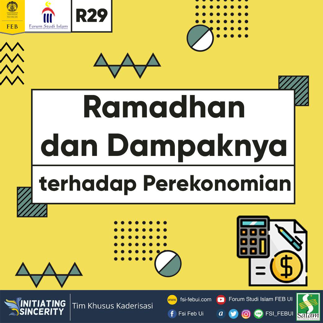 The Impact of Ramadan on The Economic Growth  in Indonesia