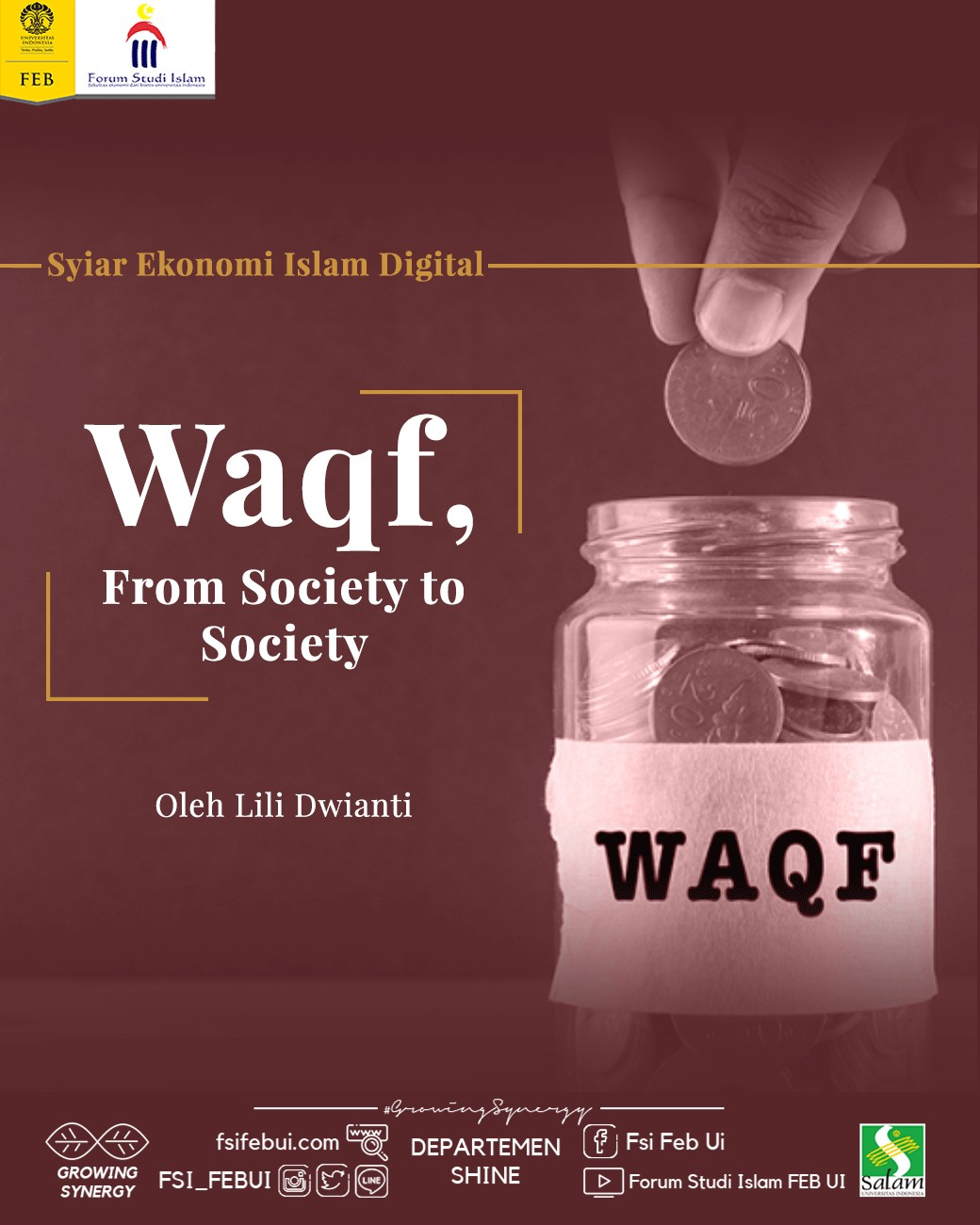 Waqf, From Society to Society